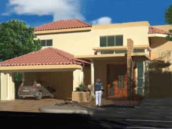 Casa amplia de dos niveles 275m2