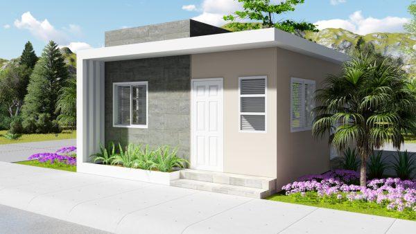 Casa pequeña y bonita 6x6