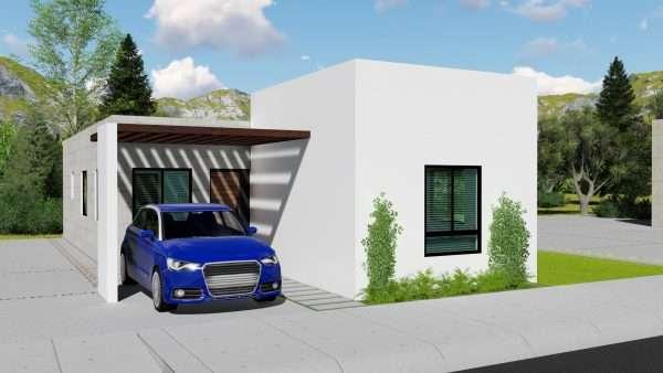 Diseño de casa 7x15