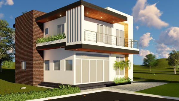 Casa dos niveles 9x9