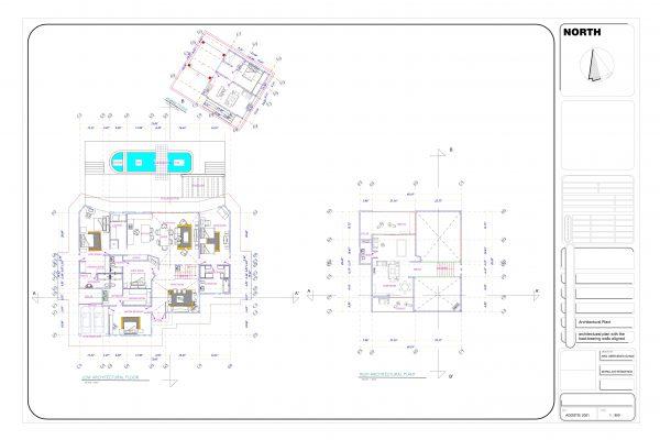 Plano Arquitectonico Casa Campestre