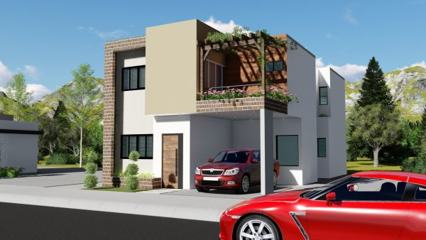 Planos de Hermosa casa 7x15