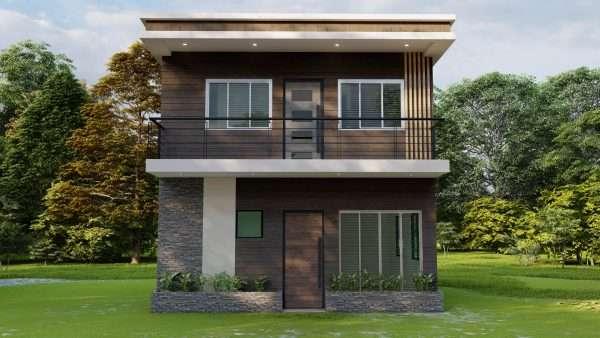 plano de casa 6x6 increíble y económica